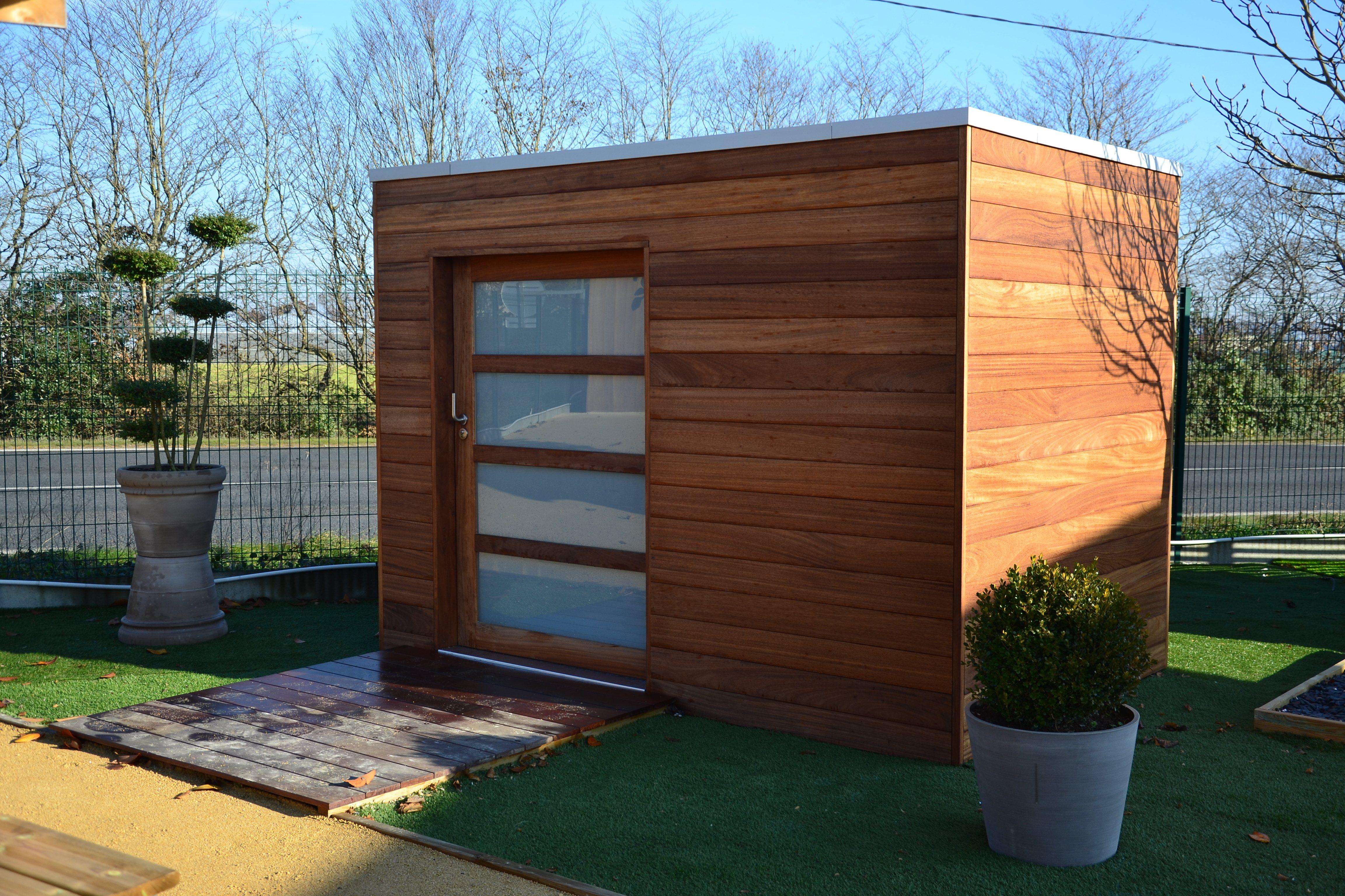 Garden House 8 Abris De Jardin 8 Ambiances Bois Expo # Abris De Jardin Cubique