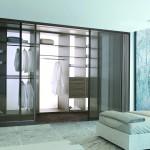 Chambre moderne avec placard AD